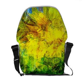 Medium Messenger Bag Summer wind gust