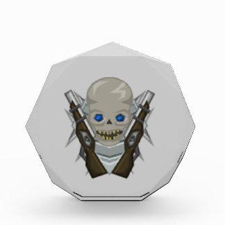 Medium Mushir Army Octagon Award with Mushir Skull