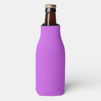 Medium Orchid Solid Color Bottle Cooler