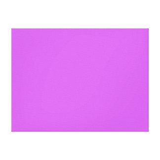 Medium Orchid Solid Color Canvas Print
