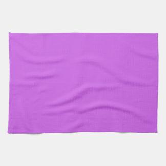 Medium Orchid Solid Color Hand Towels