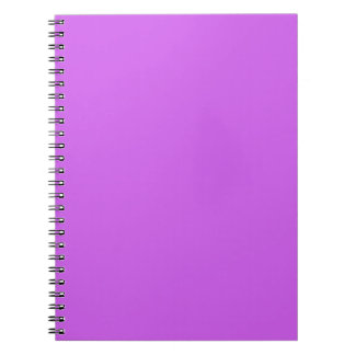Medium Orchid Solid Color Notebook