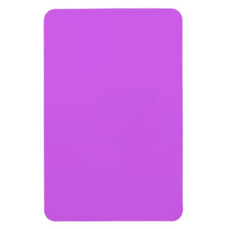 Medium Orchid Solid Color Rectangle Magnet