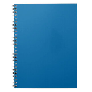 Medium Persian Blue Classy Color Matching Note Books
