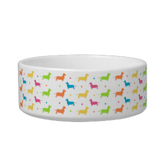 Medium Pet Bowl - Funky Sausage (Dachshund) Range