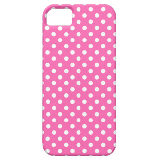 Medium Pink Fine Polka Dot iPhone 5 Case