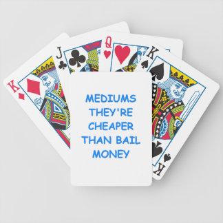 medium poker cards