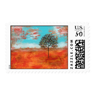 Medium Postage Stamps I Will Revere Painting