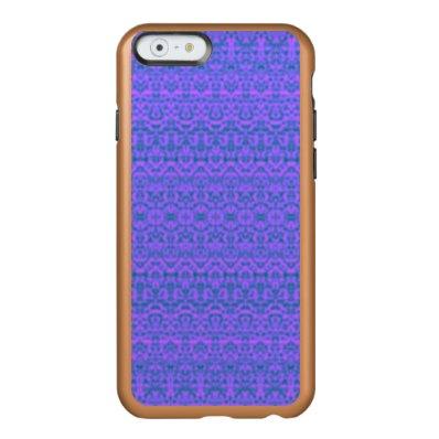 Medium Purple Damask iPhone 6 Case
