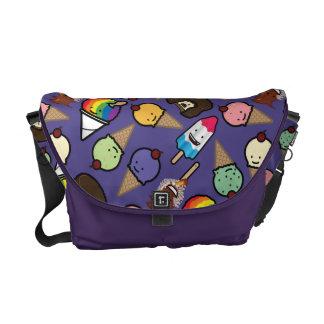 Medium Purple Frosty Treat Messenger Bag