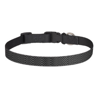 Medium Quatrefoil Pattern Dog Collar