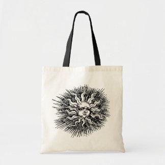 Medium Reusable Tote Bags Sun Design!