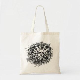 Medium Shopping Bags Sun Design!