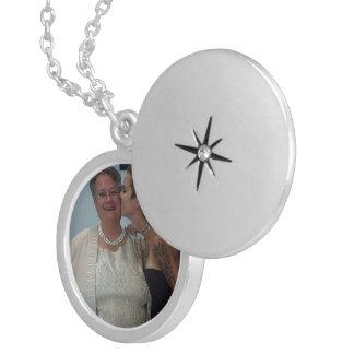 Medium Silver Plated Round Locket