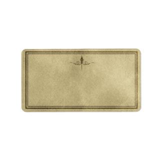 Medium Simple Elegance Apothecary Label