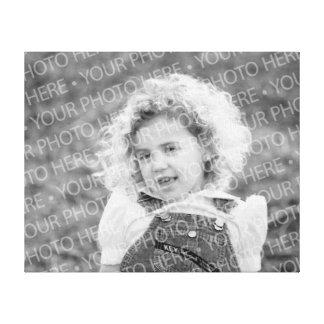 Medium Size Photo Template Canvas Thin Profile
