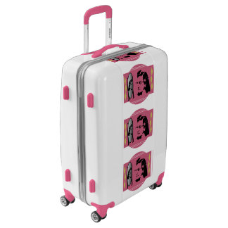 Medium Sized Luggage Suitcase REFLECTIONS RETRO LA