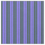 [ Thumbnail: Medium Slate Blue and Dark Slate Gray Lines Fabric ]