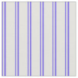 [ Thumbnail: Medium Slate Blue and Light Cyan Lined Pattern Fabric ]