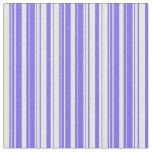 [ Thumbnail: Medium Slate Blue and Mint Cream Colored Lines Fabric ]