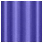 [ Thumbnail: Medium Slate Blue & Blue Pattern Fabric ]