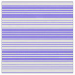 [ Thumbnail: Medium Slate Blue & Light Cyan Lines Pattern Fabric ]