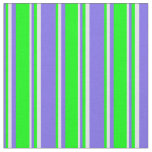 [ Thumbnail: Medium Slate Blue, Lime, and Lavender Colored Fabric ]
