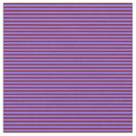 [ Thumbnail: Medium Slate Blue & Maroon Lines/Stripes Pattern Fabric ]