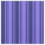 [ Thumbnail: Medium Slate Blue & Midnight Blue Colored Pattern Fabric ]