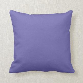 medium slate blue throw pillow