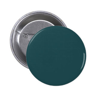 Medium Teal Blue color 2 Inch Round Button