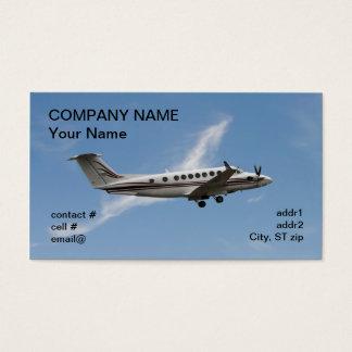 medium twin turbo prop business card