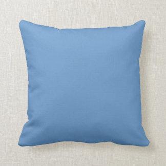 medium Wedgwood  blue pillow