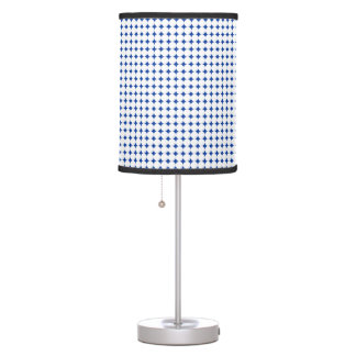 Medium White Polka Dot Lamp