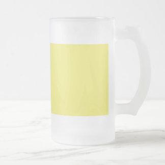 Medium Yellow Solid Background Color FFFF66 Coffee Mugs