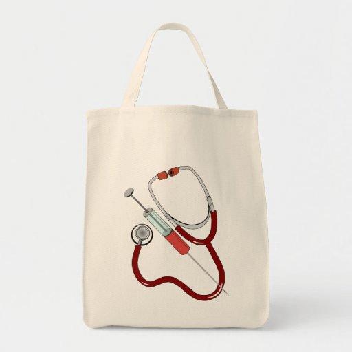 medizinische Instrumente medical instruments Leinentasche