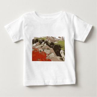 Medley of Feta Cheese, Tomatoes and Red Onion Baby T-Shirt