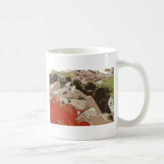 Medley of Feta Cheese, Tomatoes and Red Onion Coffee Mug