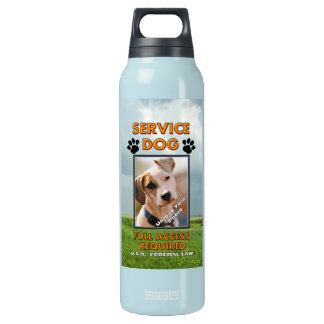 Medowland Service Dog  K9 Quench Insulated Water Bottle