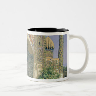 Medrasah Shir-Dhor at Registan place Two-Tone Coffee Mug