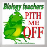 Médula de los profesores de biología yo apagado posters