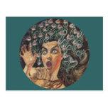 Medusa 1895 post card