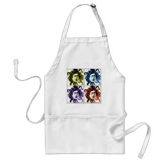 MEDUSA as VAMPIRE vintage collage print Adult Apron