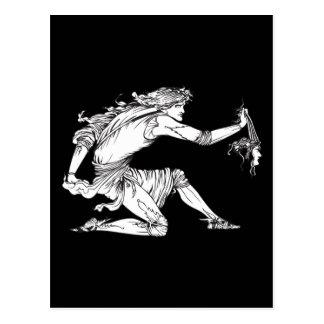 Medusa Aubrey Beardsley Postales
