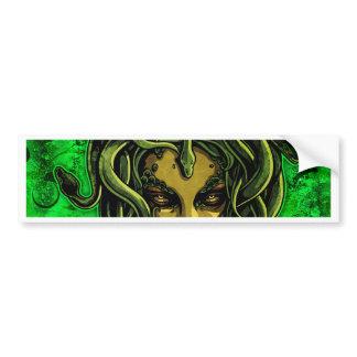 Medusa Bumper Sticker