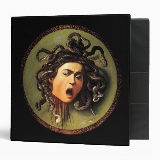 Medusa, Caravaggio Binder