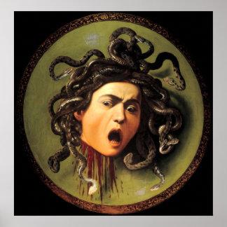 Medusa, Caravaggio Print