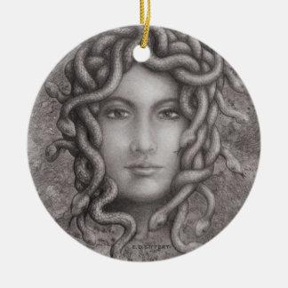 Medusa Ceramic Ornament