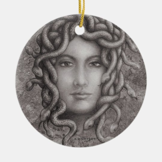 Medusa Ceramic Ornament