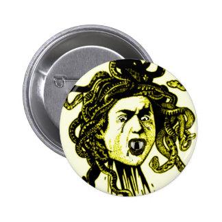 MEDUSA como impresión del vintage del VAMPIRO en O Pin